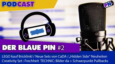 Der blaue Pin #2: LEGO kauft Bricklink, CaDA Neuheiten, TECHNIC Sets: Schwerpunkt Pullbacks 2020