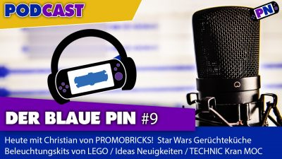 Der blaue Pin #9: Mit Chris von Promobricks über Star Wars Neuheiten, TECHNIC-Kran-MOC und IDEAS