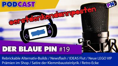 #19 MOCs mit Rebrickable / IDEAS hört nicht auf / LEGO VIP Prämien / Brick Sketches / Retro Ecke