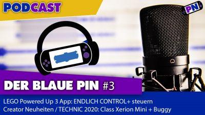 Der blaue Pin #3: LEGO PoweredUp 3.0 App, Creator Neuheiten, TECHNIC: Claas Xerion Mini + Buggy