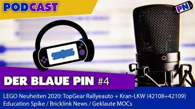 Der blaue Pin #4: TECHNIC Highlights 2020, Education Spike, Bricklink, geklaute MOCs?