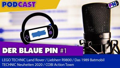 Der blaue Pin #1: Land Rover, Bagger, TECHNIC Neuheiten 2020