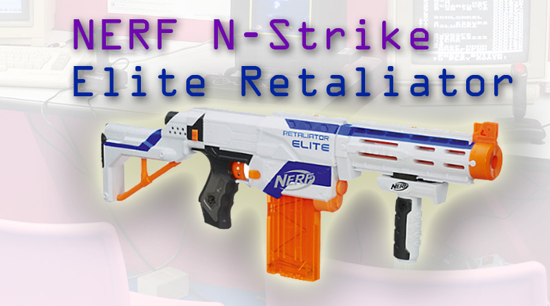 NERF N-Strike Elite Retaliator Review