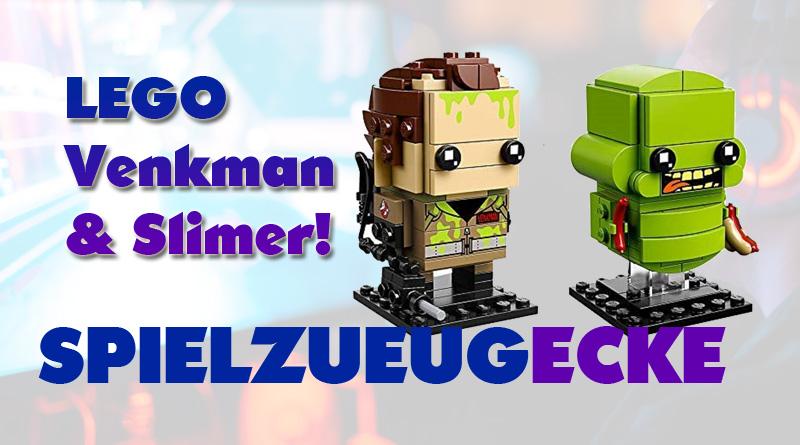 LEGO® Brickheadz Venkman + Slimer