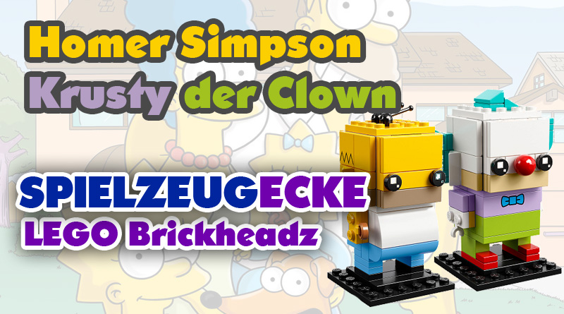 Lego® Simpsons Brickheadz: Homer & Krusty (Set 41632)