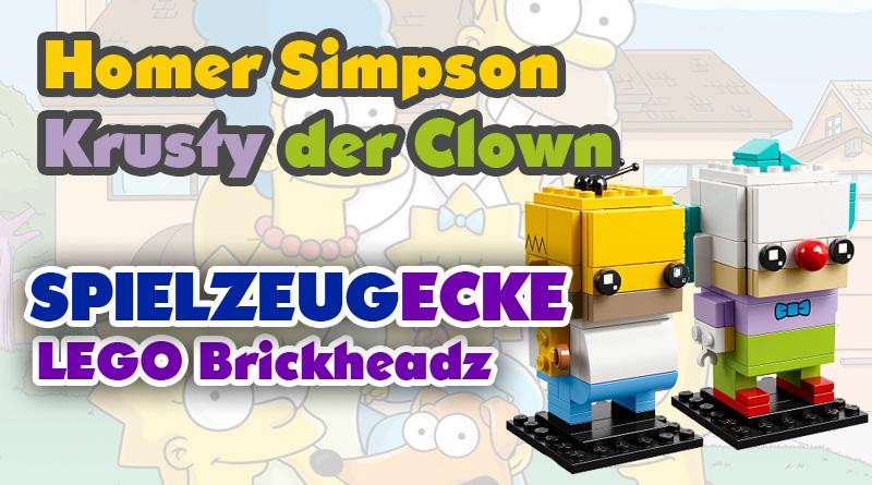 Lego® Simpsons Brickheadz: Homer & Krusty (Set 41632)