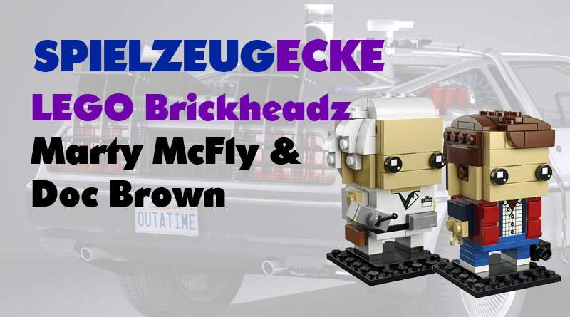 LEGO® Brickheads MartyMcFly + Doc Brown