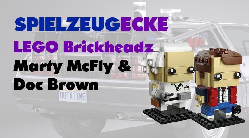 LEGO® Brickheads MartyMcFly + Doc Brown