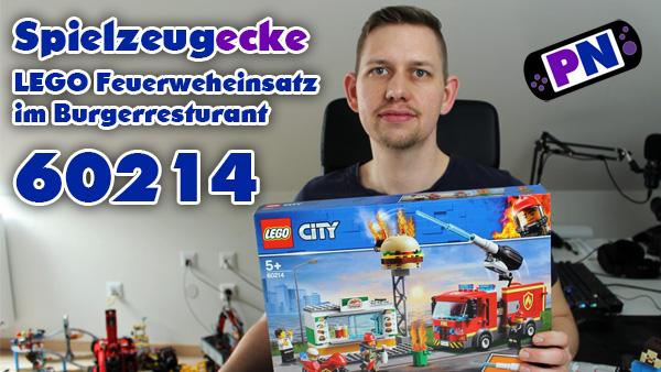 LEGO® Feuerwehreinsatz im Burger-Restaurant (60214)