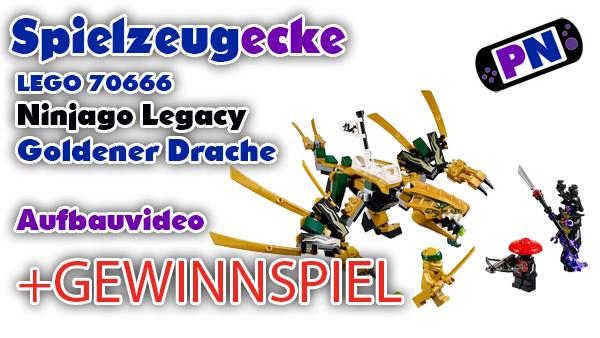 LEGO® Ninjago Legacy  GoldenerDrache (70666) + GEWINNSPIEL