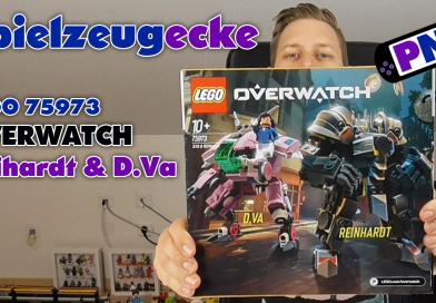 Spielzeugecke #21: LEGO® Overwatch: Reinhartd & D.Va (75973)