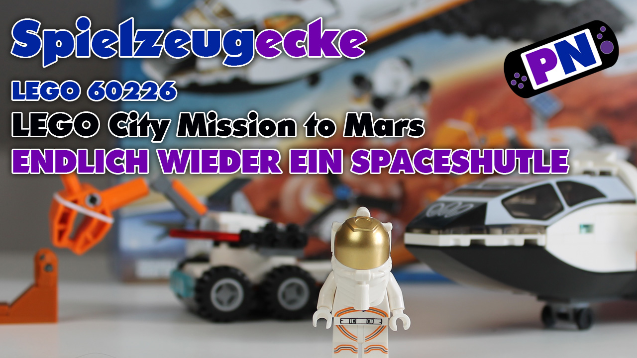 LEGO City Weltraum Mars Mission Spaceshuttle 60226