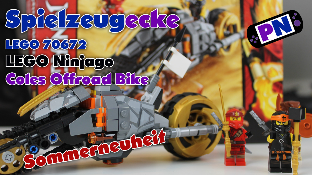 LEGO Ninjago Coles Offroad Bike 70672