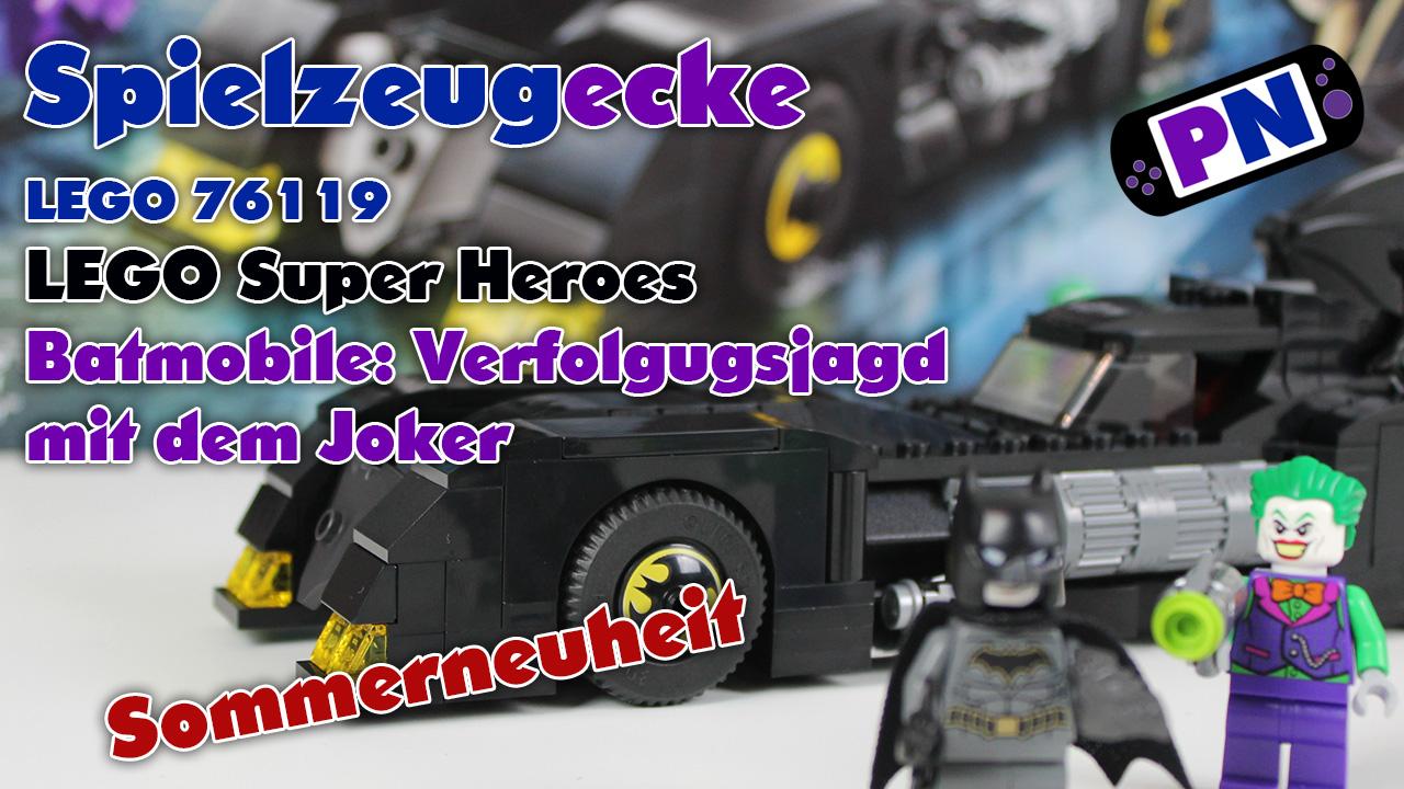 LEGO® Batmobil: Verfolgungsjagd mit dem Joker (76119) – Review