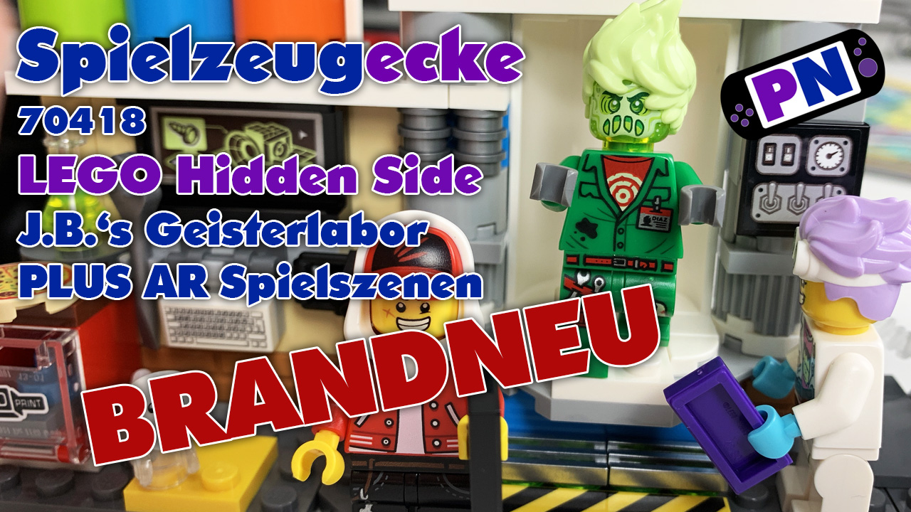 LEGO® Hidden Side Geisterlabor + AR Spielszenen (70418) – Review