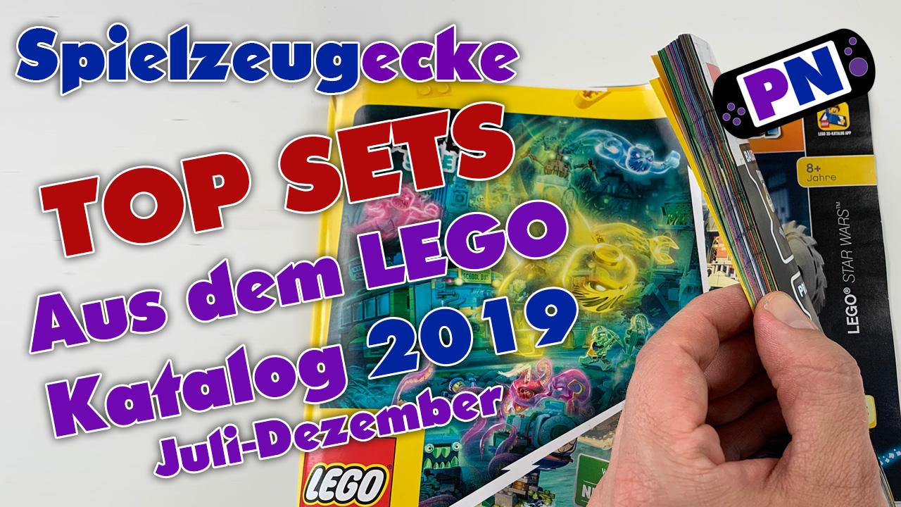 TOP Sets des LEGO® Katalog (Juli – Dezember 2019)