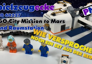 Spielzeugecke #24: LEGO® City Mondstation (60227) – Nicht das Geld wert!