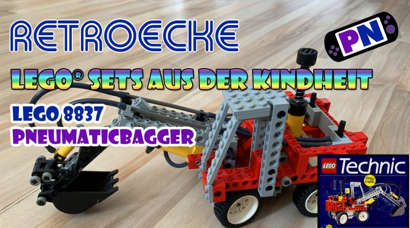 Retroecke #11: LEGO® TECHNIC Pneumatic Bagger von 1992