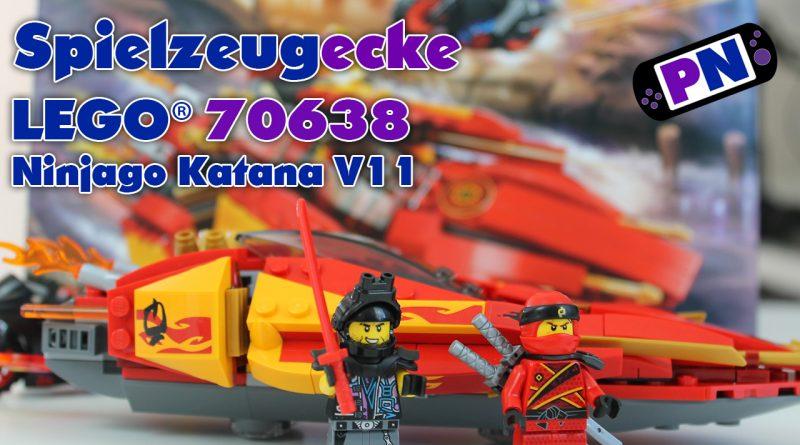 Spielzeugecke #30 LEGO® Ninjago Katana V11 (70638)