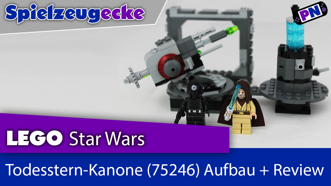 LEGO® STAR WARS  Todesstern-Kanone (75246) Aufbau + Review