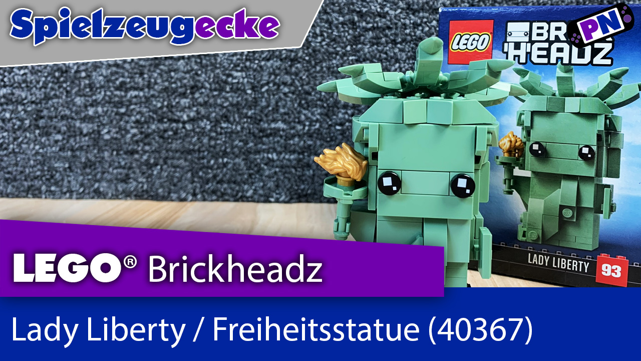 LEGO® Lady Liberty Freiheitsstatue Brickheadz (40367) – Review
