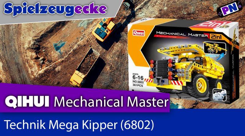 Qihui Mega Kipper (6802) – Alternative zu TECHNIC?! + Aufbau + Review