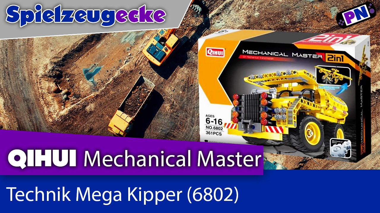 Qihui Mega Kipper (6802) – Alternative zu TECHNIC?! + Aufbau + Review