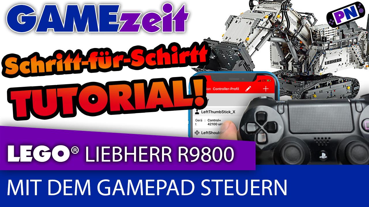 Gamezeit #12: LEGO® Control+ (Liebherr R9800) Gamepad-Tutorial! Schritt für Schritt Anleitung