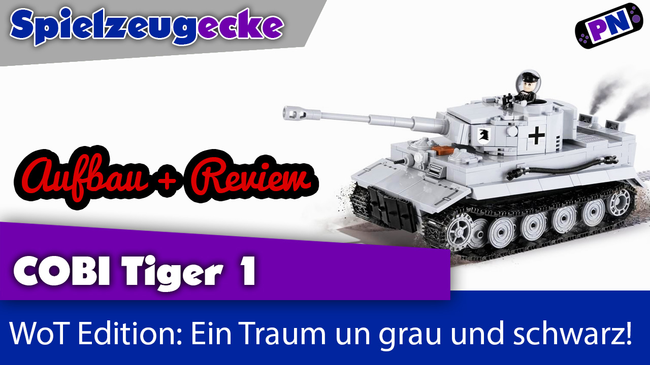 COBI Panzer 3000B: Tiger I (grau)- Aufbau + Review