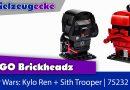 LEGO® Brickheadz: Kylo Ren + Sith Trooper: Mega Prints! Review + Aufbau von Kylo!