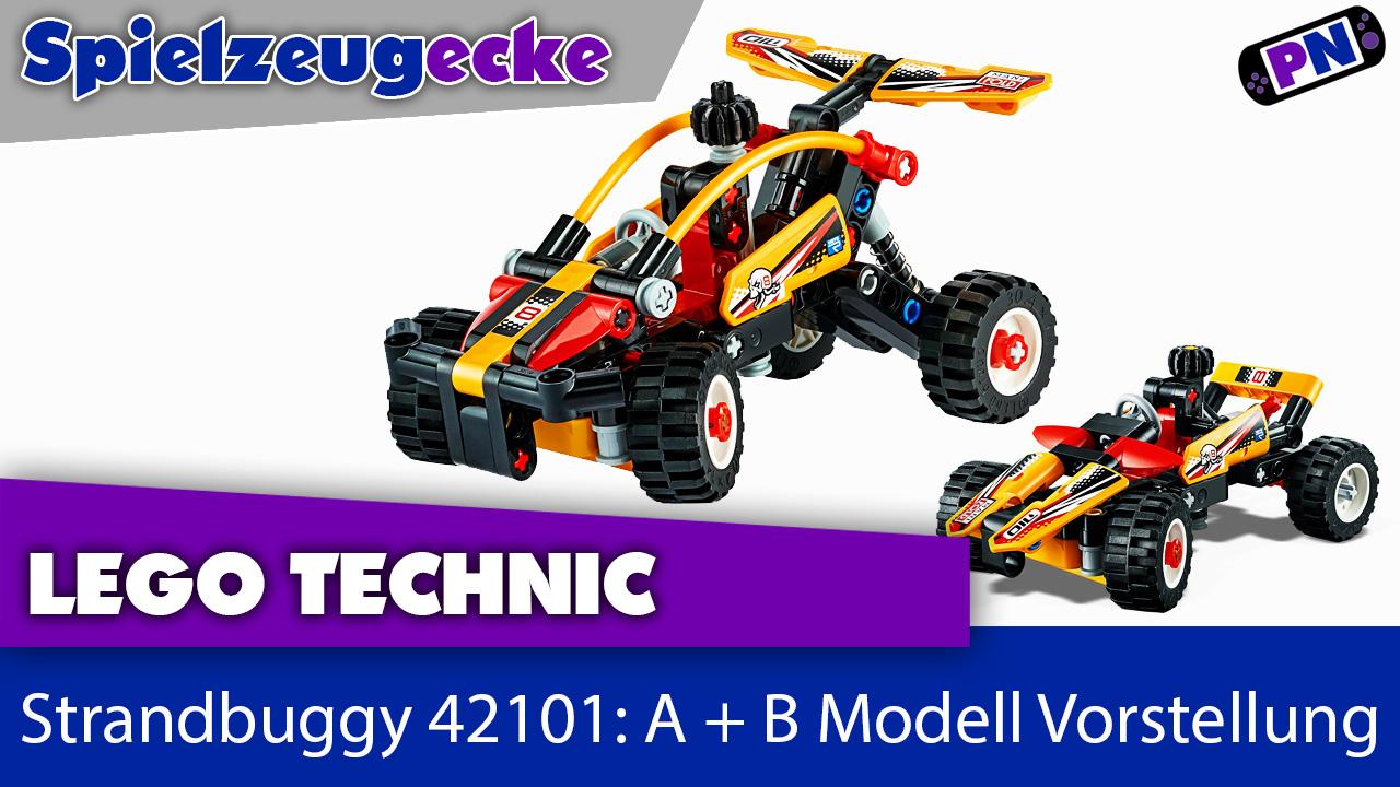 LEGO® TECHNIC 42101 Strandbuggy: A + B Modell Vorstellung