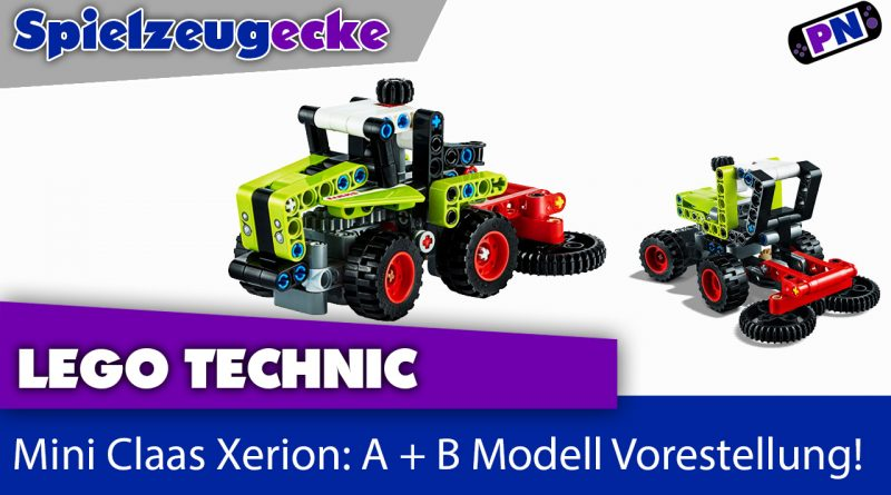 LEGO® 42102 TECHNIC Mini Claas Xerion: A + B Modell Vorstellung