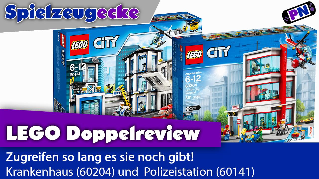 LEGO® City: Krankenhaus (60204) und Polizeistation (60141): Zuschlagen so lang es sie noch gibt! Review!