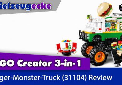 LEGO® Burger-Monster-Truck: Genialer Foodtruck und Umbau! (Creator 31104)