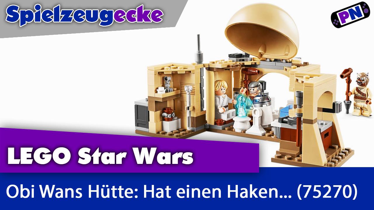 LEGO® Star Wars: Obi Wans Hütte: Kammerspiel mit Haken (75270)