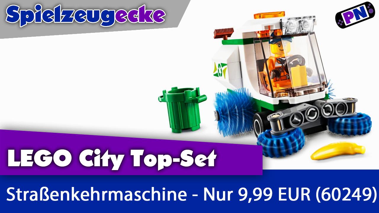 LEGO® City Straßenkehrmaschine – Das Top Set der City-Welt 2020 (60249)