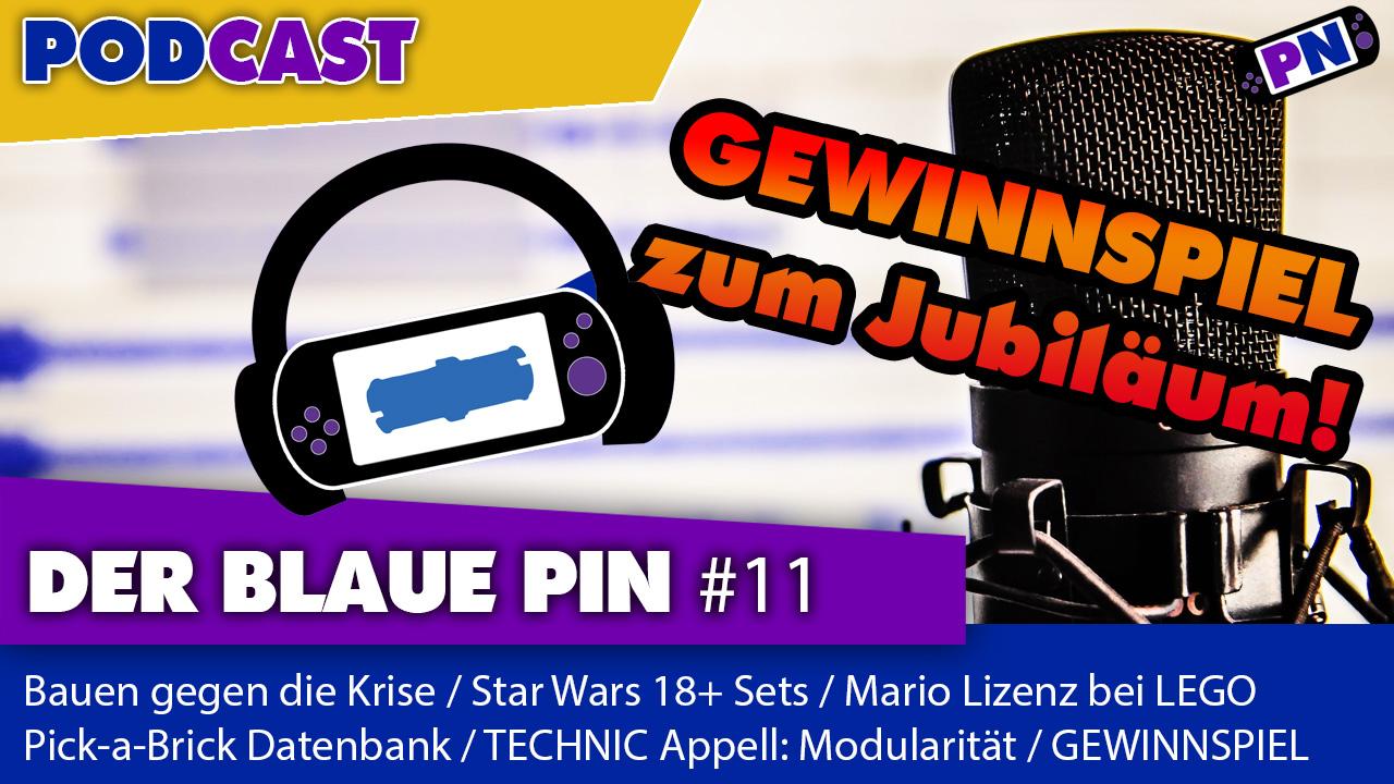 #11: Bauen gegen die Krise / SW: Büsten / Super Mario von LEGO / PaB Datenbank / Gewinnspiel