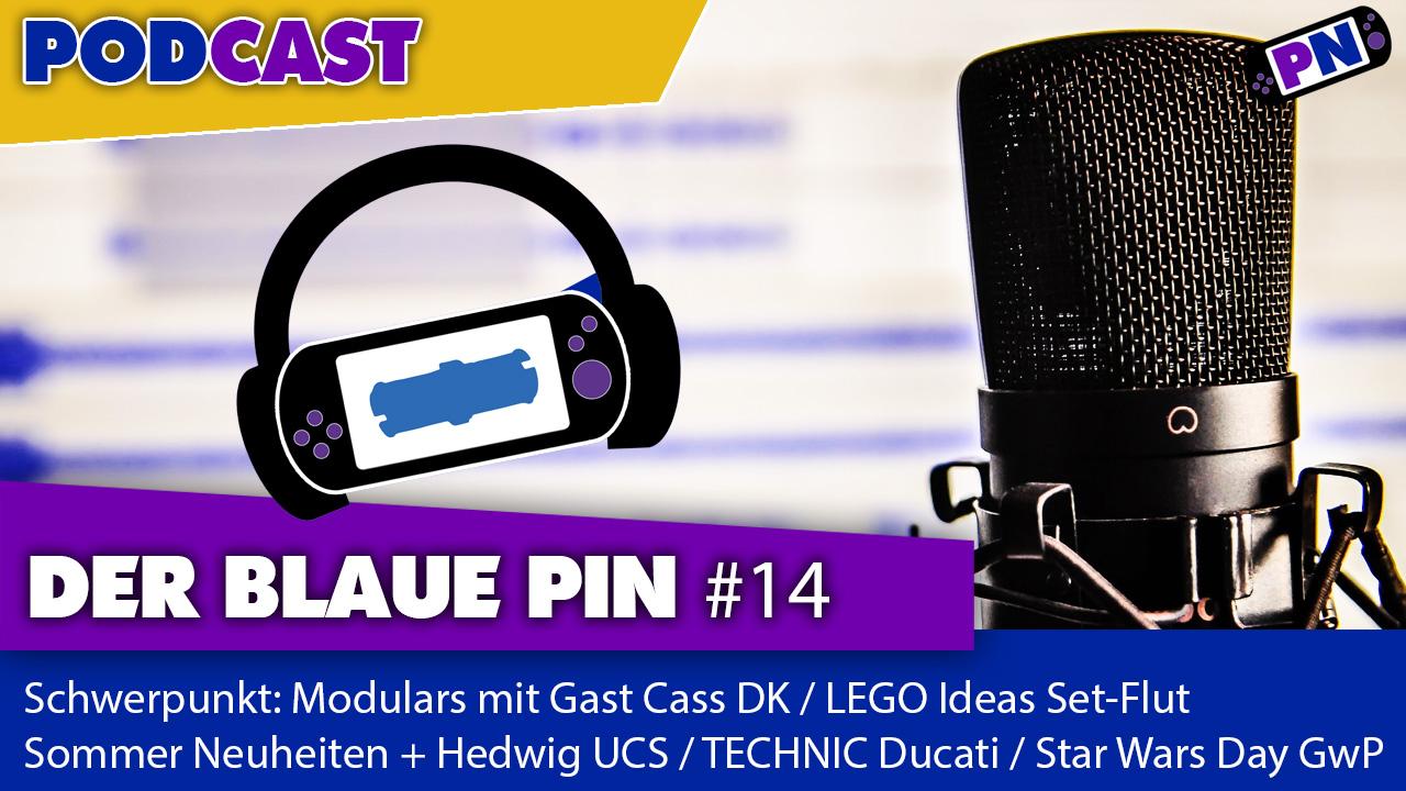 #14 Schwerpunkt Modulars mit Gast Cass DK + Besprechung den neuen LEGO Sets, UCS Hedwig sowie einer IDEAS Diskussion!