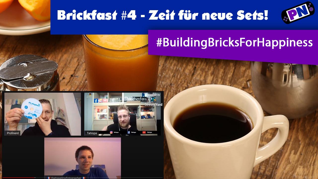 Brickfast #4 – Der LEGO Frühstücks-Talk! Wir besprechen viele LEGO Neuheiten des Sommers 2020
