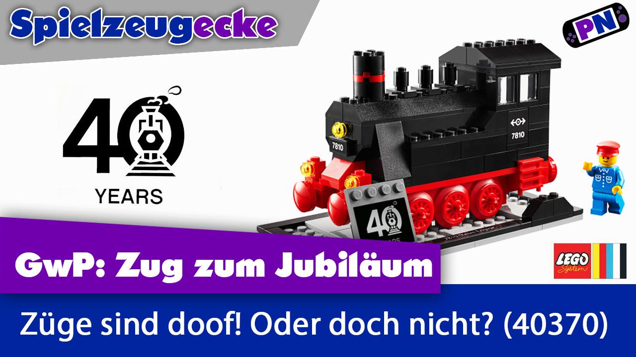 40 Jahre Züge bei LEGO®: Das Zug GwP 40370 – Eine Hommage