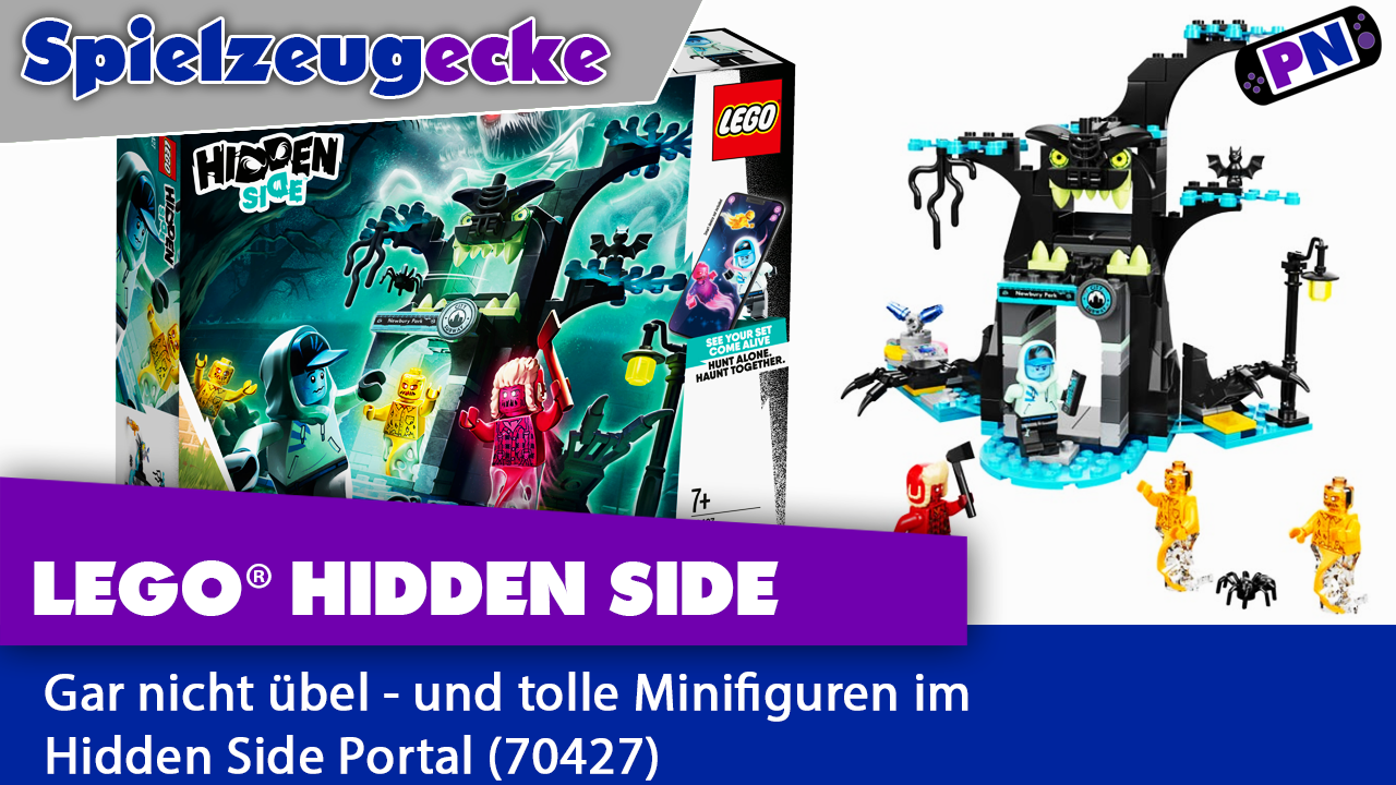 LEGO® Hidden Side Portal – mit genialer Minifigur!