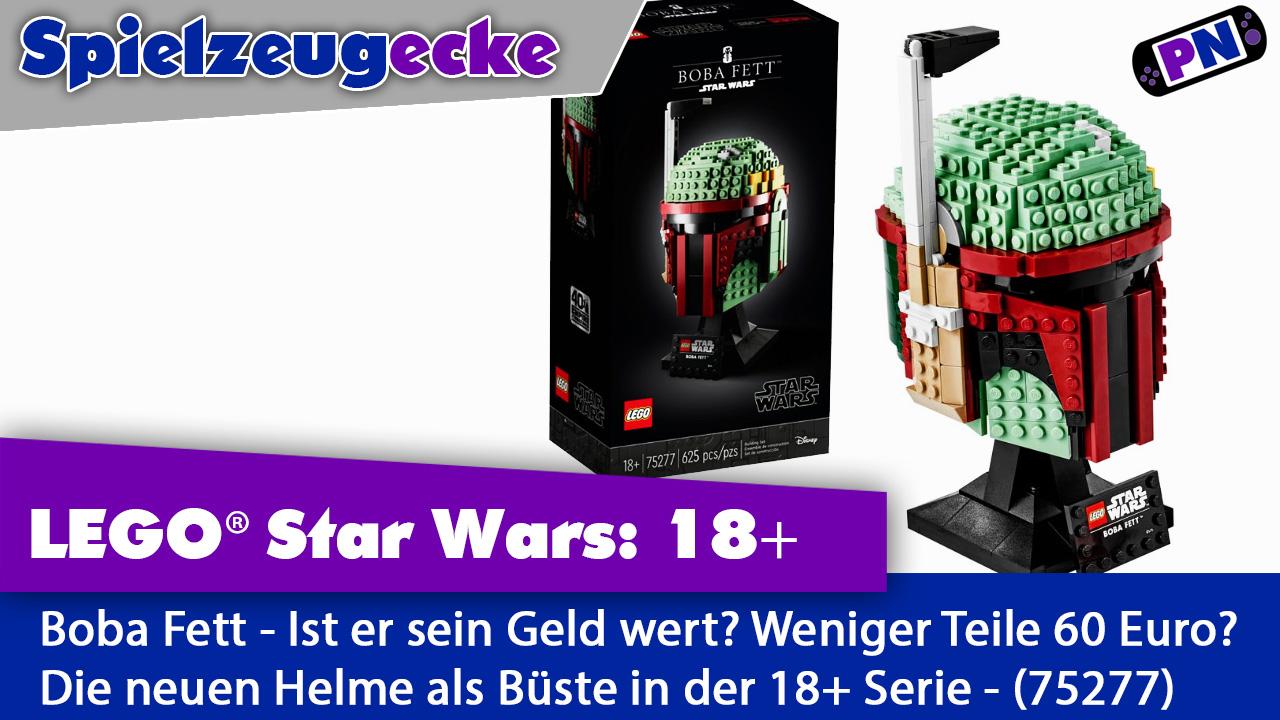 LEGO Star Wars Büste Boba Fett – Sein Geld Wert aber etwas fehlt  (75227)