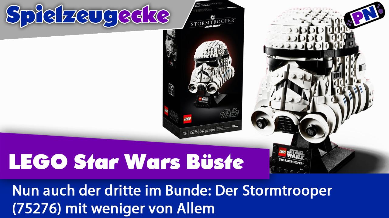 Hat einen am Helm: LEGO® Stormtrooper 18+ Helm: Ihm fehlt wieder was! Review (75267)