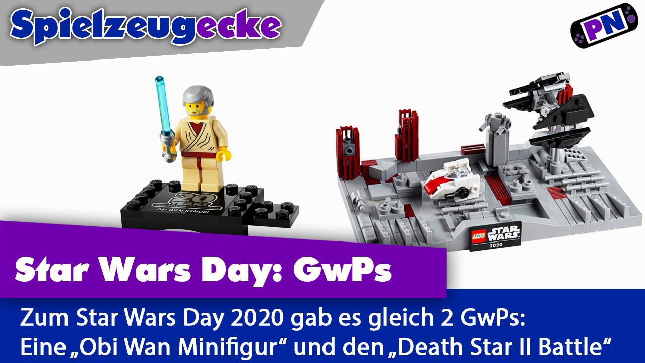Star Wars Day: Review der beiden kostenlosen Beigaben (Obi Wan + Death Star II Battle) 40407 / 30624