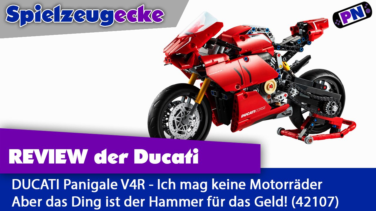 Traum oder Albtraum? LEGO® TECHNIC Ducati Panigale V4 R (Review – 42107)
