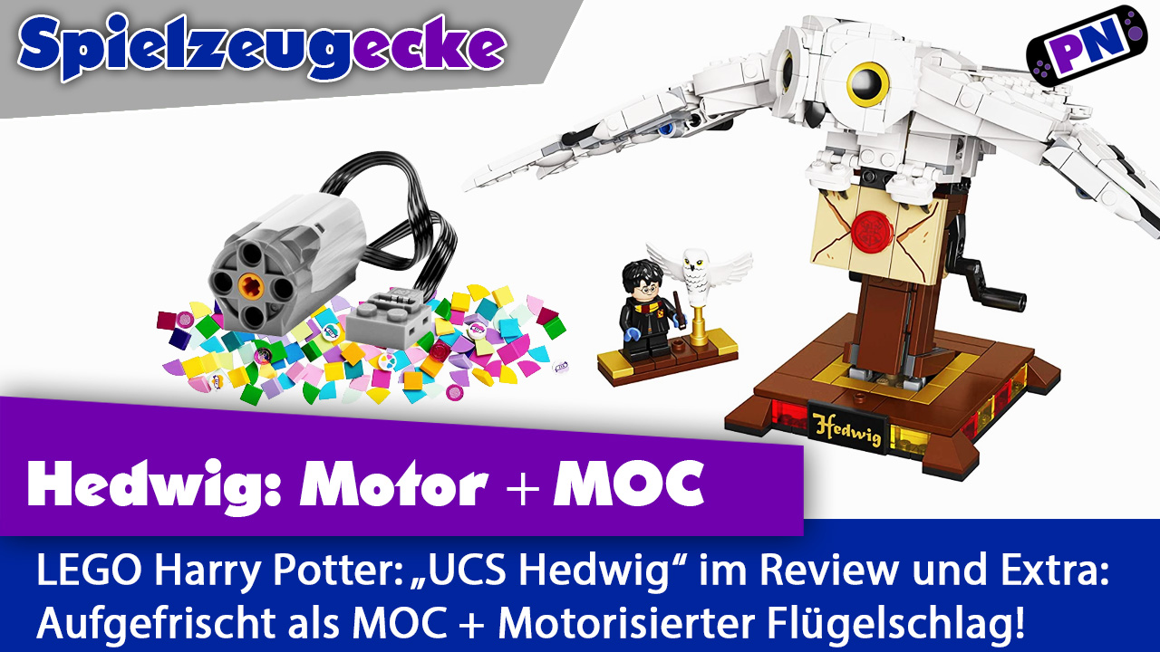 "LEGO® Harry Potter: ""UCS Hedwig"" Review + MOC + Motorisiert! (75979)"