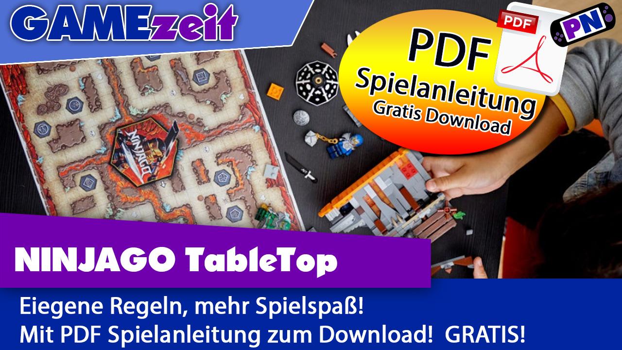 Verbessert: LEGO® TableTop: Eigene Regeln! Tutorial, Anleitung und gratis PDF Download! (z.B. 71717)