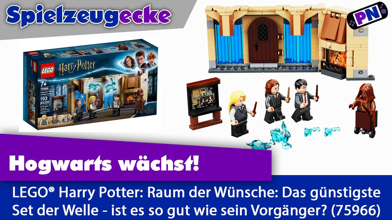 Glitzertierchen: LEGO® Harry Potter Der Raum der Wünsche – Review (75966)