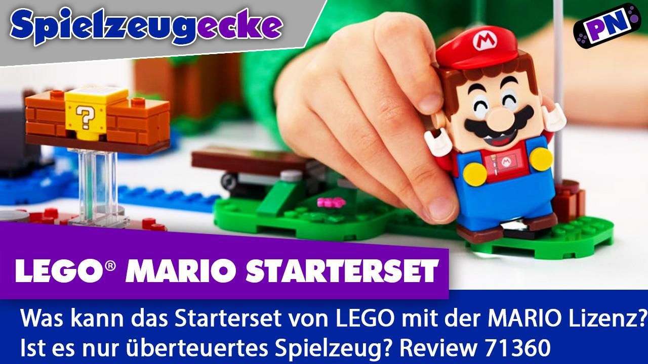 Mehr drin als gedacht: LEGO® Mario Starterset + Zubehör (Polybags, Kostüm)