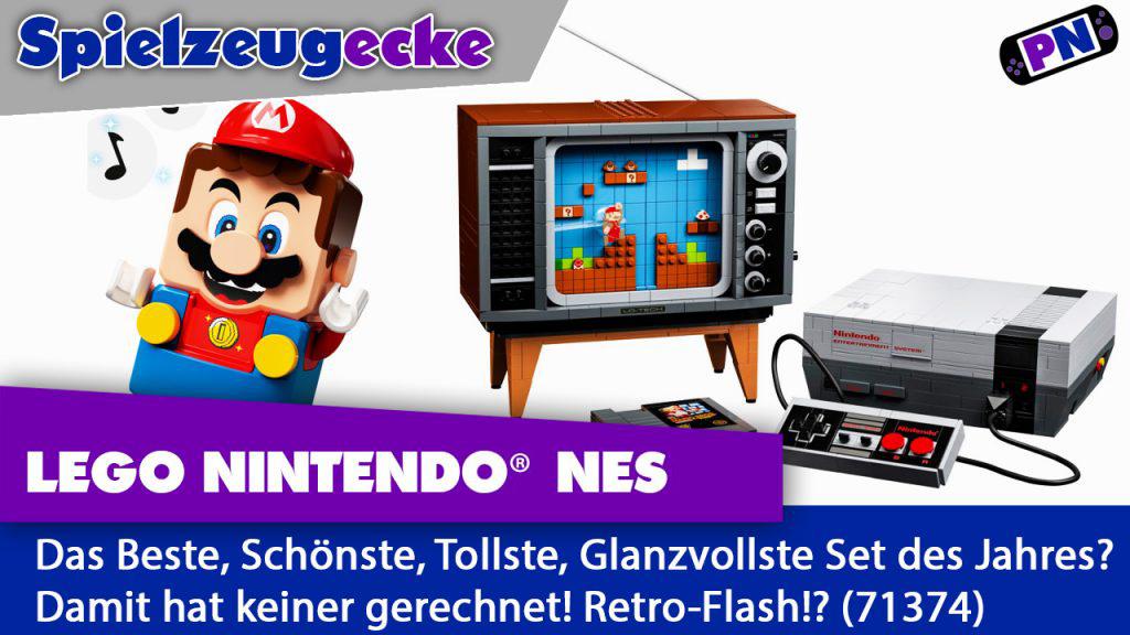 Retro-Gefühle oder teures Plastik? LEGO® Nintendo Entertainment System (NES) im Review + Motorisiert!